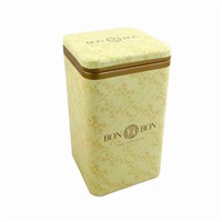 high quality bonbon tin box
