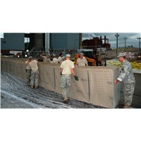 Temporary Hesco Type Barrier Fence