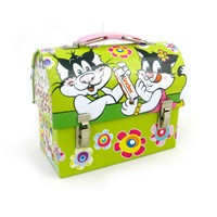 beautiful lunch tin box with handle