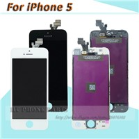 for iPhone 5 5G LCD Display Digitizer Touch Screen LCD Assembly Replacement