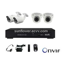 CCTV IP Camera and NVR Kit / CCTV KIT NVR/Kit 4CH
