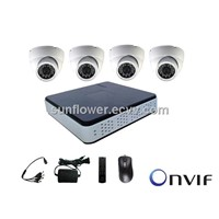 IP Dome CCTV Camera NVR KIT 4CHB IP CAMERA KIT