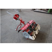 3 rows gasoline paddy weeder