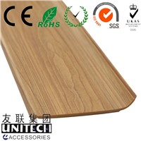 PVC Foam Baseboard Skirting Board Porfile