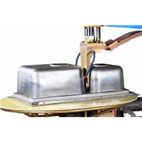 Stainless Steel Kitcken Sink Rolling Seam Welding Machine