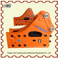 side bracket npk hydraulic breaker parts on excavator