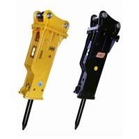 High quality hydraulic breakers on excavators