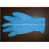 Medical Nitrile examination glove with low price good quality