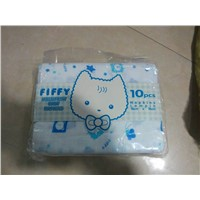100% cotton gauze baby diaper