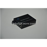 Hot selling 10/100 1 port POE fiber media converter