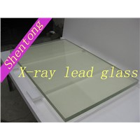 X-ray lead glass for x-ray protection
