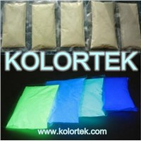 photoluminescent powder pigment, glow powder for paint