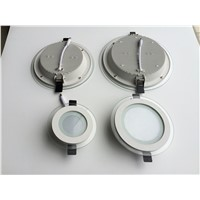 round and square glass cover led down light 6w,12w,18w,24w