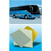 coach and commercial vehicle outer skin FRP sheet without gelcoat