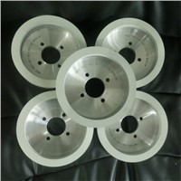 Vitrified bond diamond grinding wheel for machining PCD/PCBN cutting tools