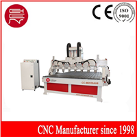 Eight Spindle Heads CNC Woodworking Engraving Machine