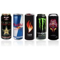 Redbull energy drinks, coca cola , soft drinks