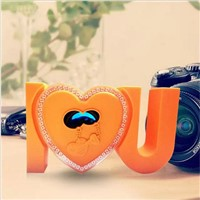 Heart shaped gift 2.1 wireless Bluetooth speaker