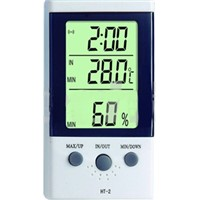 digital thermometer and hygrometer for refrigeration