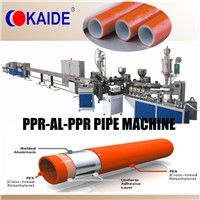 PPR-AL-PPR composite pipe extrusion line/production line KAIDE factory