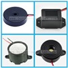 Mini Wire Magnetic Buzzer Speaker 28mm 85dB Built-in Drive Circuit  for Security Products