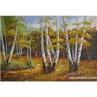 Knife painting landscape,knife oil painting,decorative painting