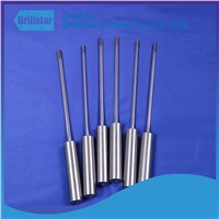 High quality tungsten carbide Gun drill:6.02*1000