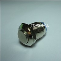 12mm waterproof mini metal push button switch with 2pins