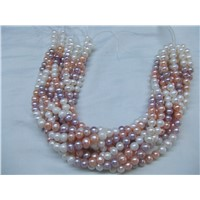 Wholesale Chinese loose pearl genuine freshwater pearl jewelry wedding jewelry factory OEM