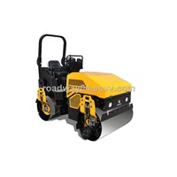 Ride on vibratory roller with Edge finish (edge cutting/ Edge pressing)