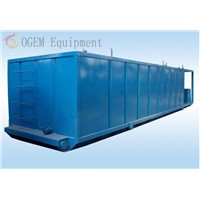 Oil field solids control mud tank