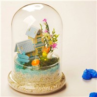 DIY Glass Microscape Bottle Home Decoration Glass Vase Friend Gift Glass Craft