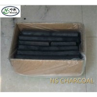 bbq sawdust charcoal briquette (high carbon fixed and long time burning)