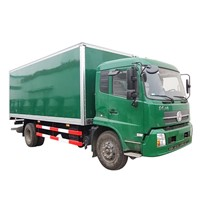 High Quality FRP Dry Freight Truck Body