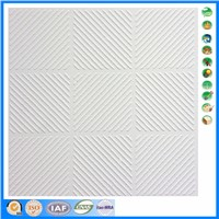 SL10 fire proof white calcium silicate ceiling board/cheap ceiling tile