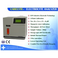 CARELYTE Electrolyte Analyzer