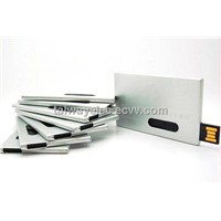 flash memory,Metal Card USB Flash Drives, 8 and 16GB Capacity