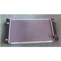aluminum & plastic radiator for cars