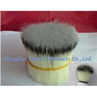 100%PURE IMITATED SILVERTIP BADGER SYNTHETIC FIBER FOR SHAVING BRUSH