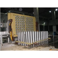 Aluminum billet casting machine