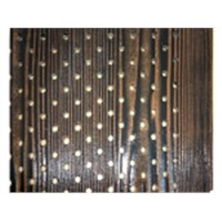 fiber cemen wall cladding /sound absorption wood grain siding board
