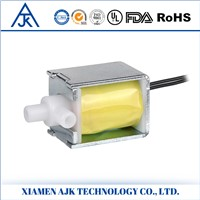 One Way Two Position DC Mini Electric NC Air Solenoid Valve