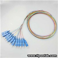 12 Color  Fiber Optic Pigtail