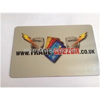 Custom metal business card,aluminum VIP card,top membership card