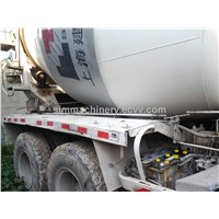 Used Japan Made Isuzu Mixer Truck Second Hand Concrete Mixers with Hydrulic Engine for Sale