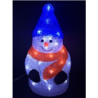attractive 3D acrylic led light holiday acrylic led holiday light CE ROHS GS