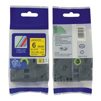 TZ-611 Bother printer compatible labels
