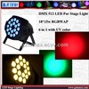 DMX 512  LED Par Stage Light 18*15w RGBWAP 6 in 1 with UV color