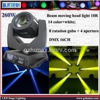 260w Beam Moving Head Light 10R LED Stage Light Philip Lamp Light