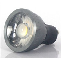 COB led spotlight with lens